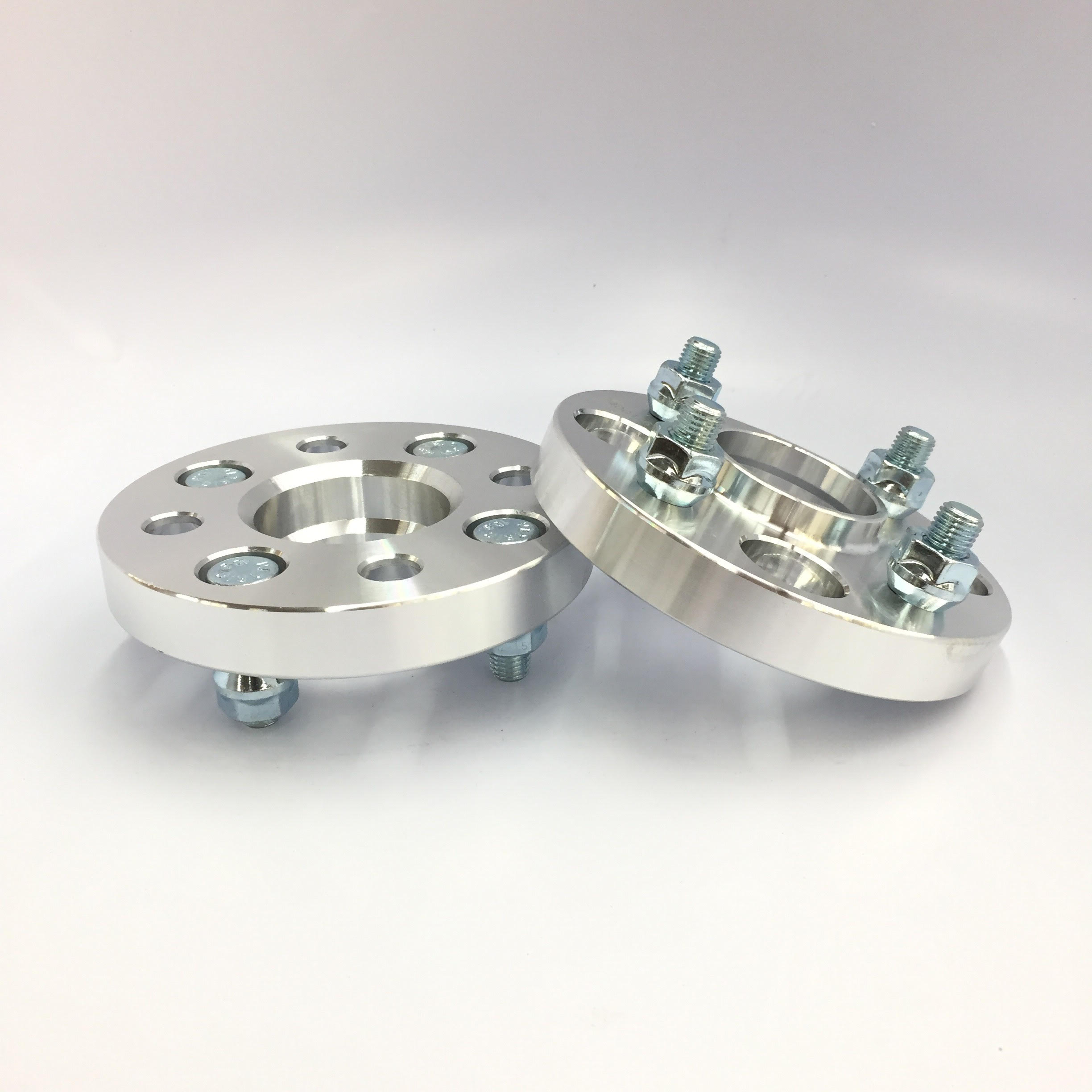2X HUB CENTRIC WHEEL SPACERS ¦ 4X4.5 (4X114.3) ¦ 12X1.5 ¦ 60.1 CB¦ 25MM THICK