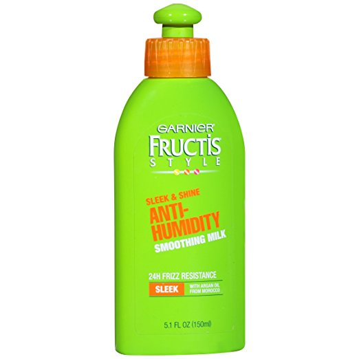 Garnier Fructis Style Anti-Humidity Smoothing Milk 5.1 FL OZ