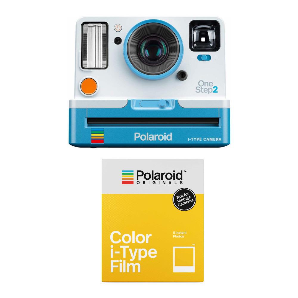Polaroid Originals I-Type SUMMER BLUE COLOUR Film for OneStep Camera