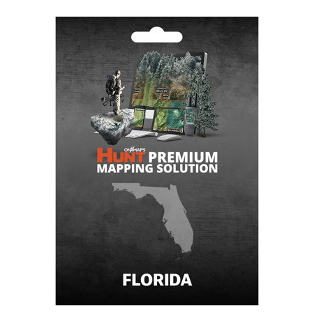 Onxmaps Hunt Florida   Gps Map With Hunting Land Owner Data For Garmin  Microsd Sd Card   Smartphone    Computer