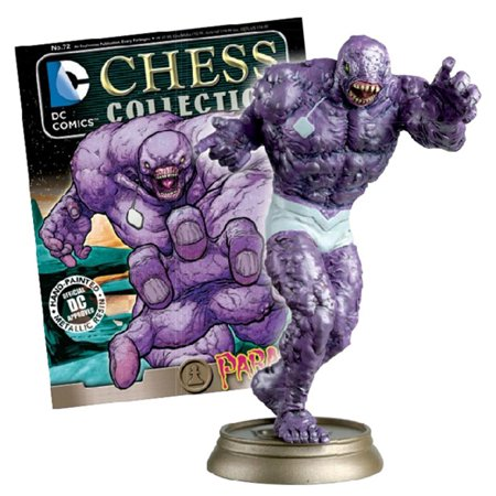 DC Superhero Chess Collection Magazine #72 Parasite (Black (Black Crowes Girl From A Pawn Shop)