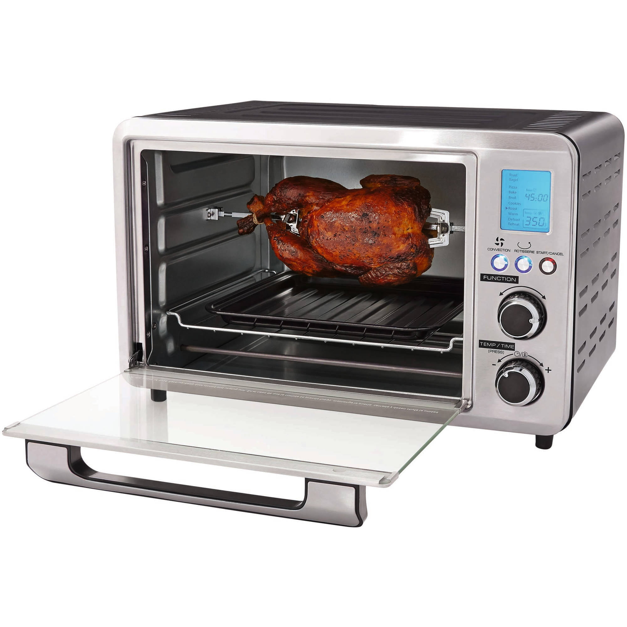 toaster white oven over product free home garden brentwood overstock on slice orders ts shipping