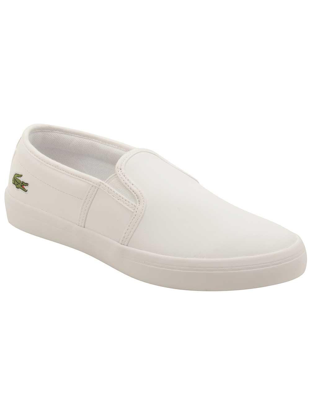4c753b4769c9b4 Lacoste - Lacoste Womens Gazon BL 1 Sneakers in White - Walmart.com