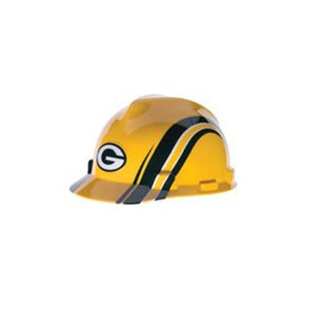 MSA 454-818395 Standard V-Gard Hard Capw-Green Bay Packers Logo