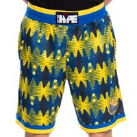 Golden State Warriors Two Hype Team Kente Shorts - Yellow