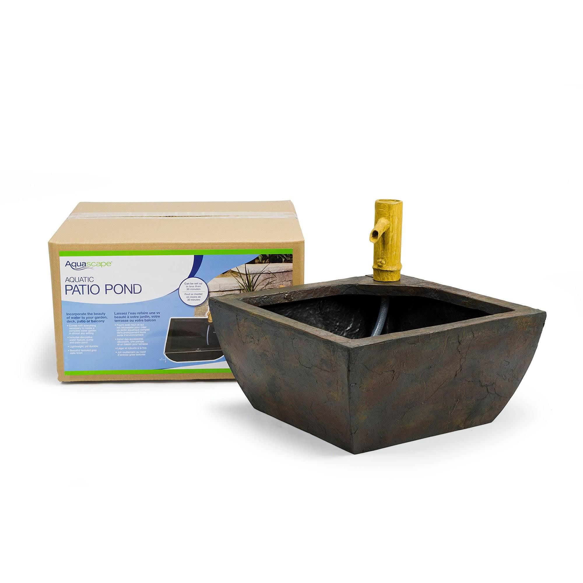 Plante Robuste Pour Terrasse aquascape 16 inch aquatic patio pond water garden planter