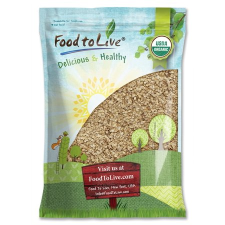 Organic Rolled Oats by Food to Live (Old-Fashioned, 100% Whole Grain, Non-GMO, Bulk, Product of the USA) — 20 (Whole Foods Organic Wine)
