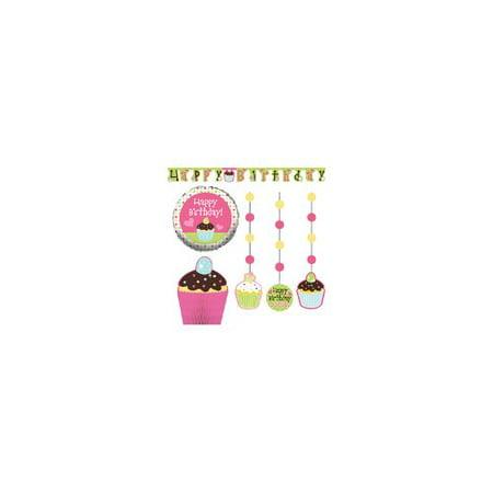 Creative Converting Sweet Treats Party Decor Kit (Set of 6)
