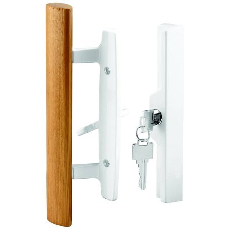 Prime Line C 1316 Sliding Door Handle Set Wood Handle