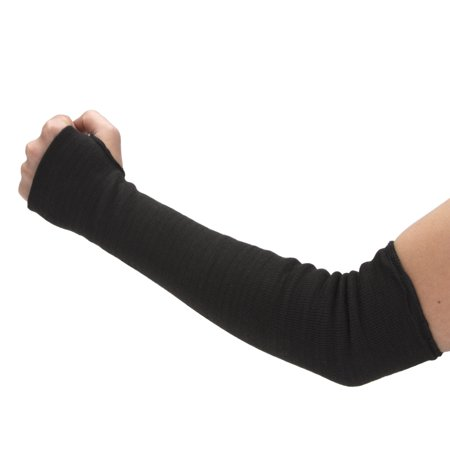STEELMAN 301630 Kevlar Safety Sleeve, Cut-resistant, Protects against Heat, Oil, and Water, Double Layer protection (1 piece); Black