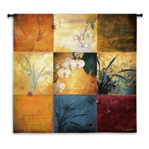 Orchid Nine Patch Medium Wall Tapestry