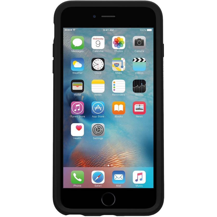 OtterBox Symmetry Series Case for Apple iPhone 6 Plus/6s Plus, Black