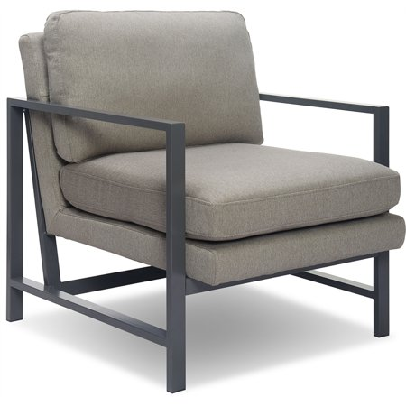 Grain Bronze (Tommy Hilfiger Russell Bronze Metal Frame Accent Chair)