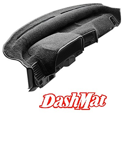 DashMat Original Dashboard Cover Fiat Strada (Premium Carpet, Smoke)