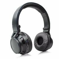 Stereo Wireless Bluetooth Headset/ Headphones for LG V30/ V30+/ G6/ G6+/ G5/ G4/ G3/ G2/ V20/ V10/ Stylo 3/ K20V/ X Charge/ Q6/ Aristo/ Q8/ Stylo 3 Plus (Black)