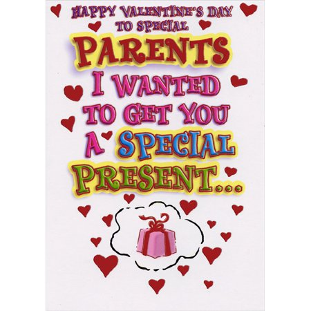 Designer Greetings Special Presents: Parents Funny Valentine's Day Card ()