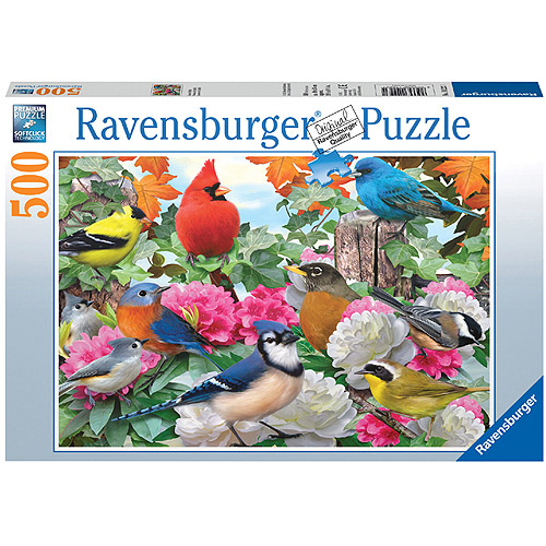 Ravensburger Garden Birds Puzzle, 500 Pieces