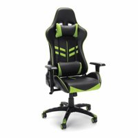 Racing Style Gaming Chair, Green
