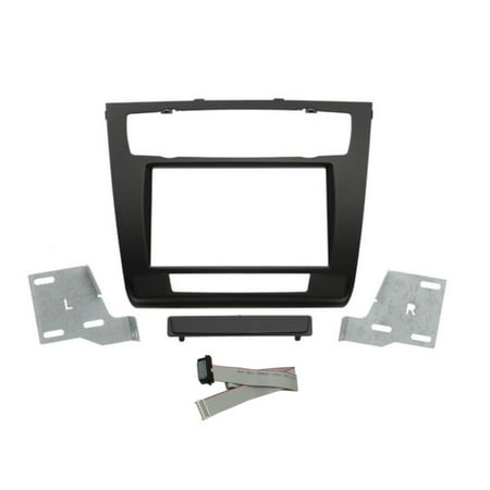 - SCOSCHE BW2382DDB 2008 - 2011 BMW 1-Series Auto A/C Double DIN Mounting Dash Kit for Car Radio / Stereo Installation