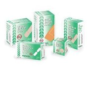 "Dynarex Sterile Adhesive Bandages - 3608, Box Of 100 3/8"" X 1 1/2"" Juniors"