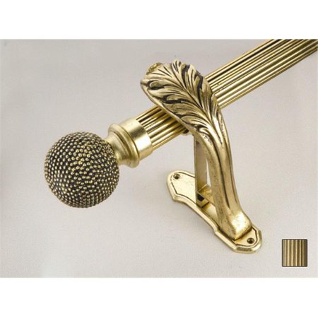 WinarT USA 8. 1068. 30. 09. 400 Palas 1068 Curtain Rod Set - 1. 25 inch - Antique Bronze - 157 inch