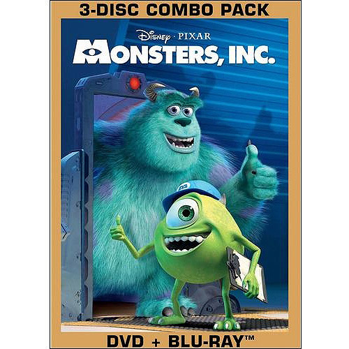 Monsters, Inc. (DVD + Blu-ray) (Widescreen)