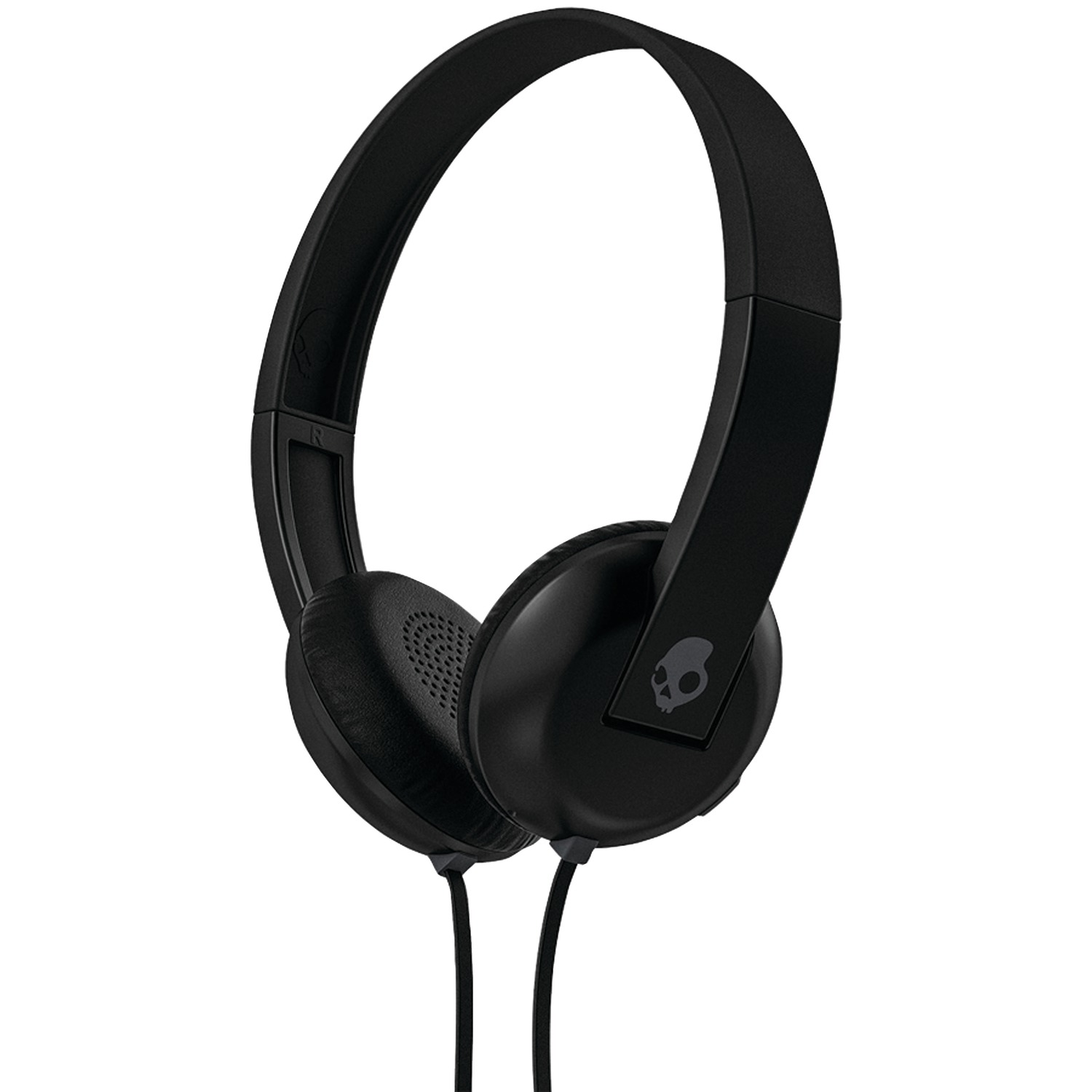 Skullcandy S5URHT-456 Uproar Over-Ear Headphones with Microphone (Black/Gray)
