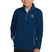 Indiana Pacers Antigua Youth Ice Quarter-Zip Pullover Jacket - Navy