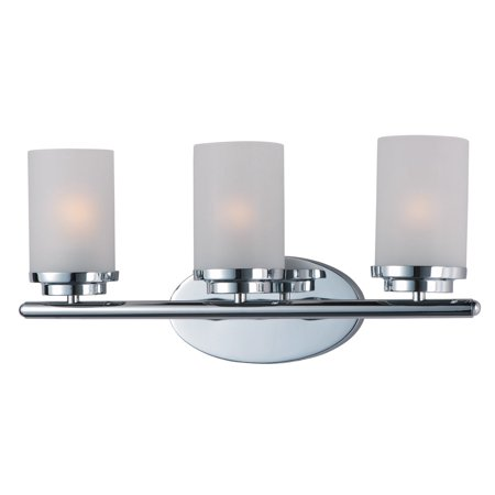 Bathroom Vanity 3 Light Bulb Fixture With Polished Chrome Finish Medium Bulb Type 19 inch 180