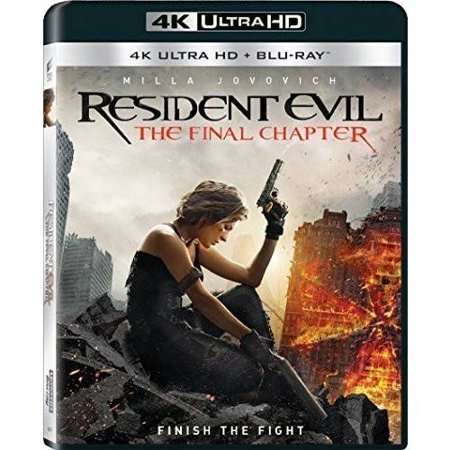 Resident evil the final chapter 4k ultra hd blu ray - Resident evil final chapter 4k ...