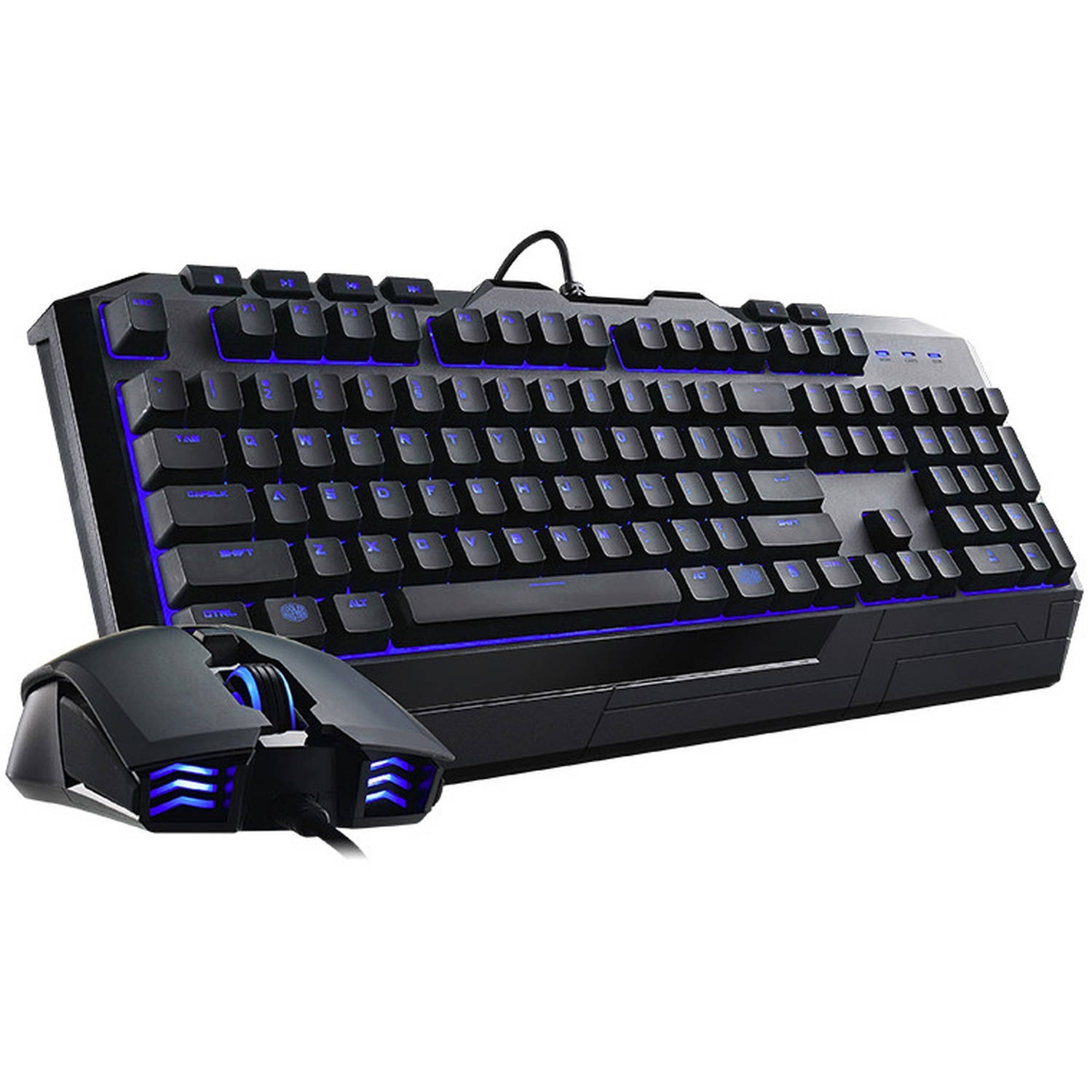Cooler Master Devastator II SGB-3030-KKMF1-US Gaming Keyboard and Mouse Bundle, Blue LED