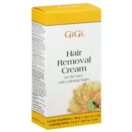 GiGi Hair Removal Cream for The Face, 1 oz & Calming Balm .5 - Hair In The 1970s