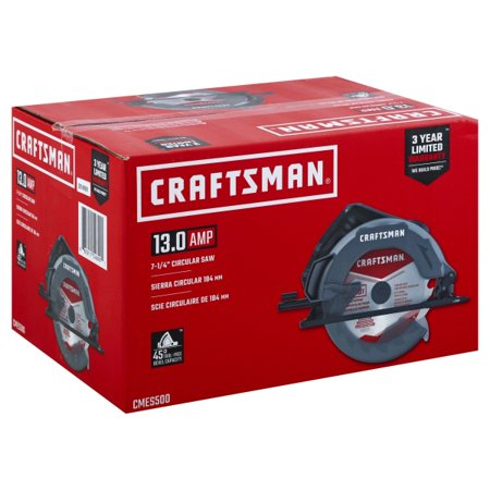 Craftsman 7-1/4 in. 13 amps Corded Circular Saw 5300 rpm - Case Of: 1