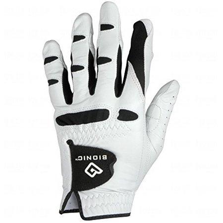 Men's StableGrip with NaturalFit Golf Glove Right White Medium/Large