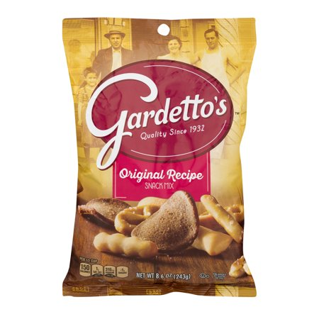 (2 Pack) Gardetto's Original Recipe Snack Mix, 8.6 oz Bag