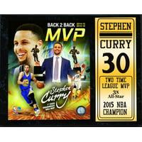 12X15 Stat Plaque - Stephen Curry Golden State Warriors 2016 MVP