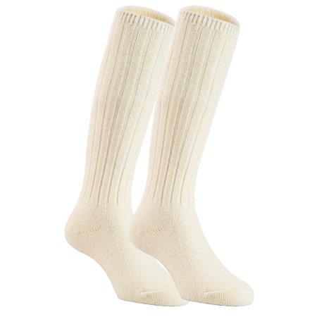 Lian LifeStyle Unisex Baby Children 3 Pairs Knee High Wool Blend Boot Socks Size 2-4Y  (Cream White)](Toddler Knee High Socks)