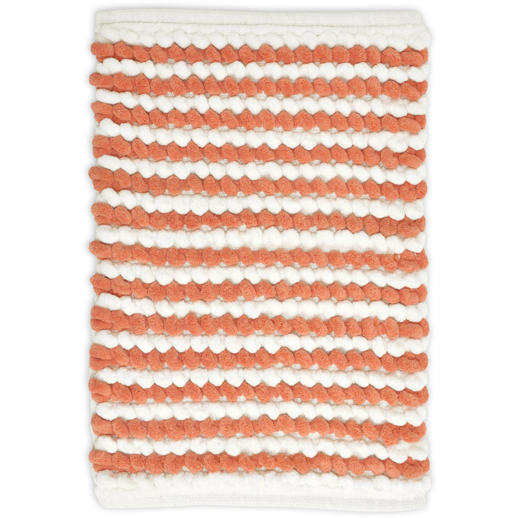 Mainstays Striped Loop Bath Rug
