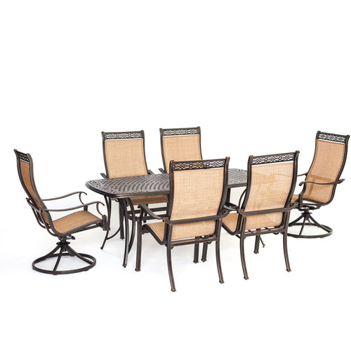 Darby Home Co Barras 7 Piece Dining Set