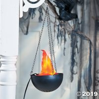Hanging Flame Party Light Halloween Decoration