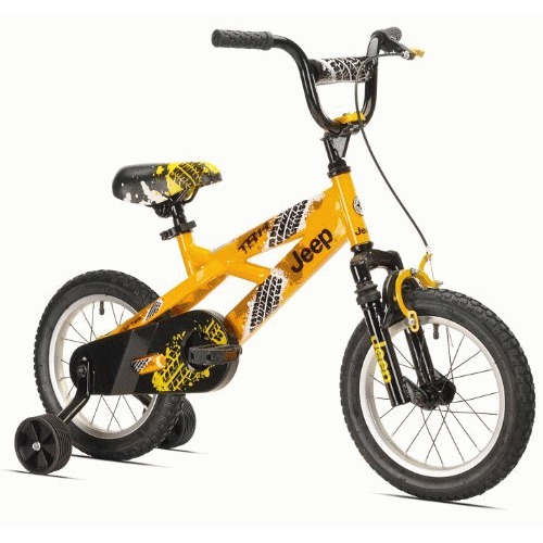 "Kent Bicycles 14"" Boys Jeep TR-14 Bike"