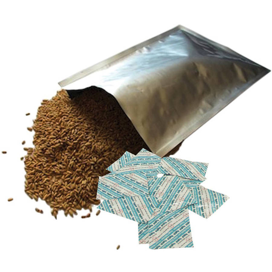 Oxy-Sorb 50, 1 Gallon Mylar Bags & 300cc Oxygen Absorbers, Long Term Food Storage