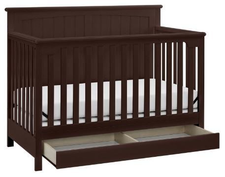 Product Image Storkcraft Davenport 5 In 1 Convertible Crib With Drawer  Espresso