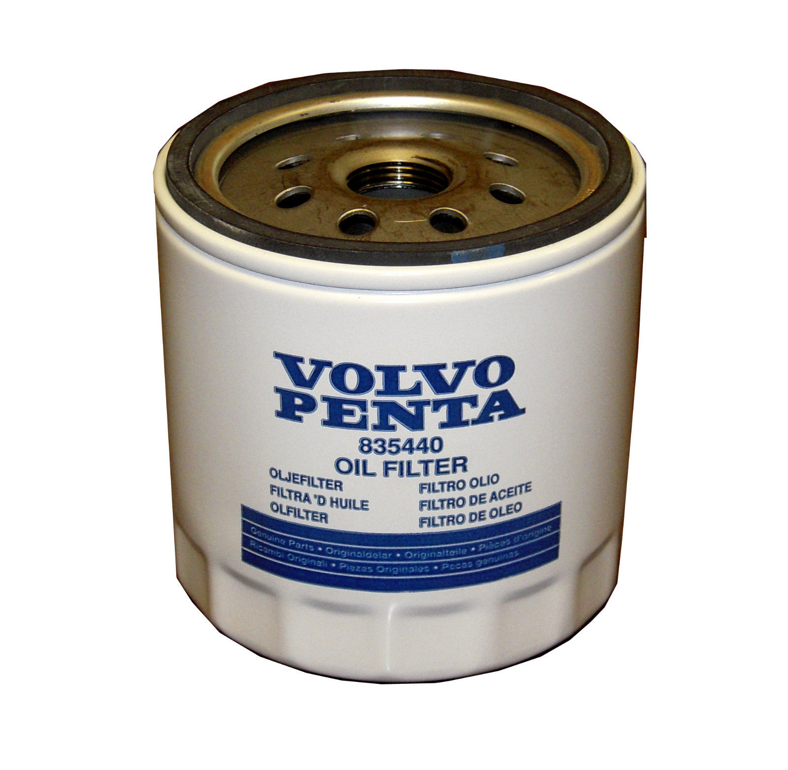 Oem Volvo Penta Oil Filter In Line 4 Cylinder Small Block V8 Gm Boat Fuel Location 835440
