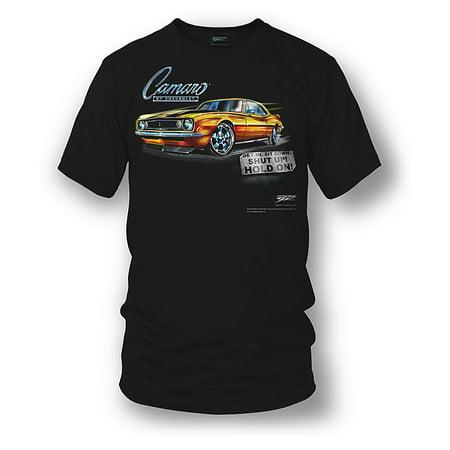 Wicked Metal Camaro Wicked Metal Camaro gear - Get In, Hold On - 1967 Camaro tee shirts gear - Approach with Caution - 1969 Camaro Z28 camaro tee shirts ()