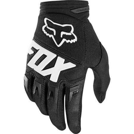Fox Racing Dirtpaw Gloves Black Race Gloves ATV MX Off Road Motocross