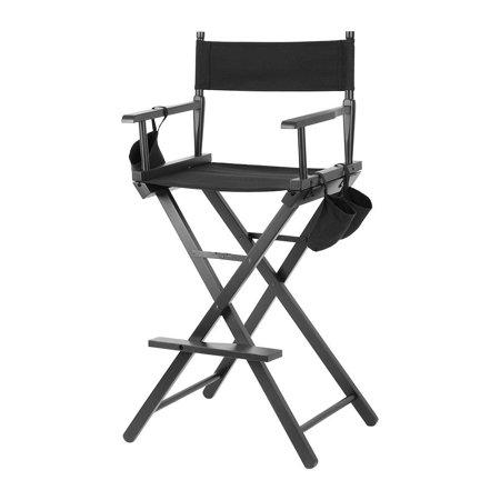 Yosoo Professional Makeup Artist Directors Chair Wood Lightweight Foldable   , Artist Chair, Foldable Chair