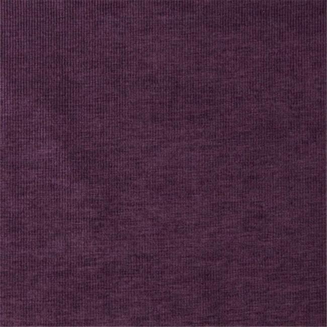 Designer Fabrics D218 54 in. Wide Purple, Striped Woven Velvet Upholstery Fabric