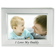 I Love My Daddy Silver Plated 6x4picture Frame