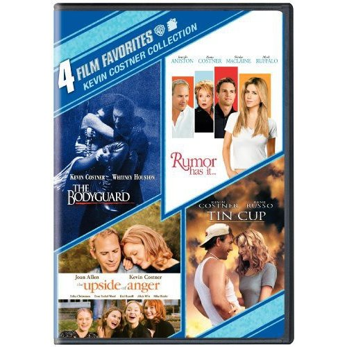 4 Film Favorites: Kevin Costner Collection - Rumor Has It / Tin Cup / The Upside Of Anger / The Bodyguard (Widescreen)